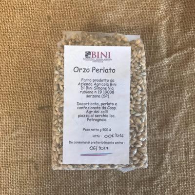 CER002 - Orzo perlato - PRODOTTI AGRITURISMO BINI